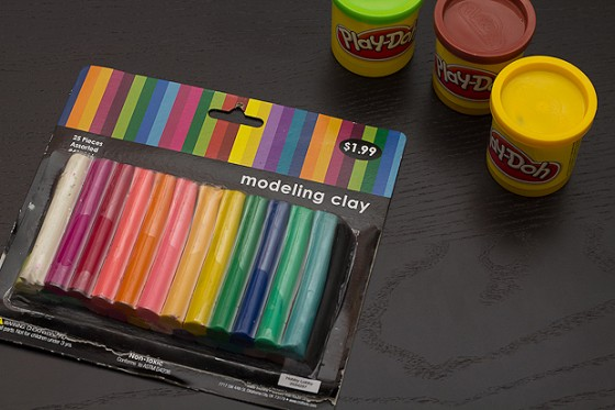 Play-Doh vs. Modeling Clay