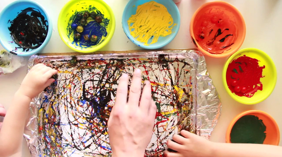 painting-with-marbles