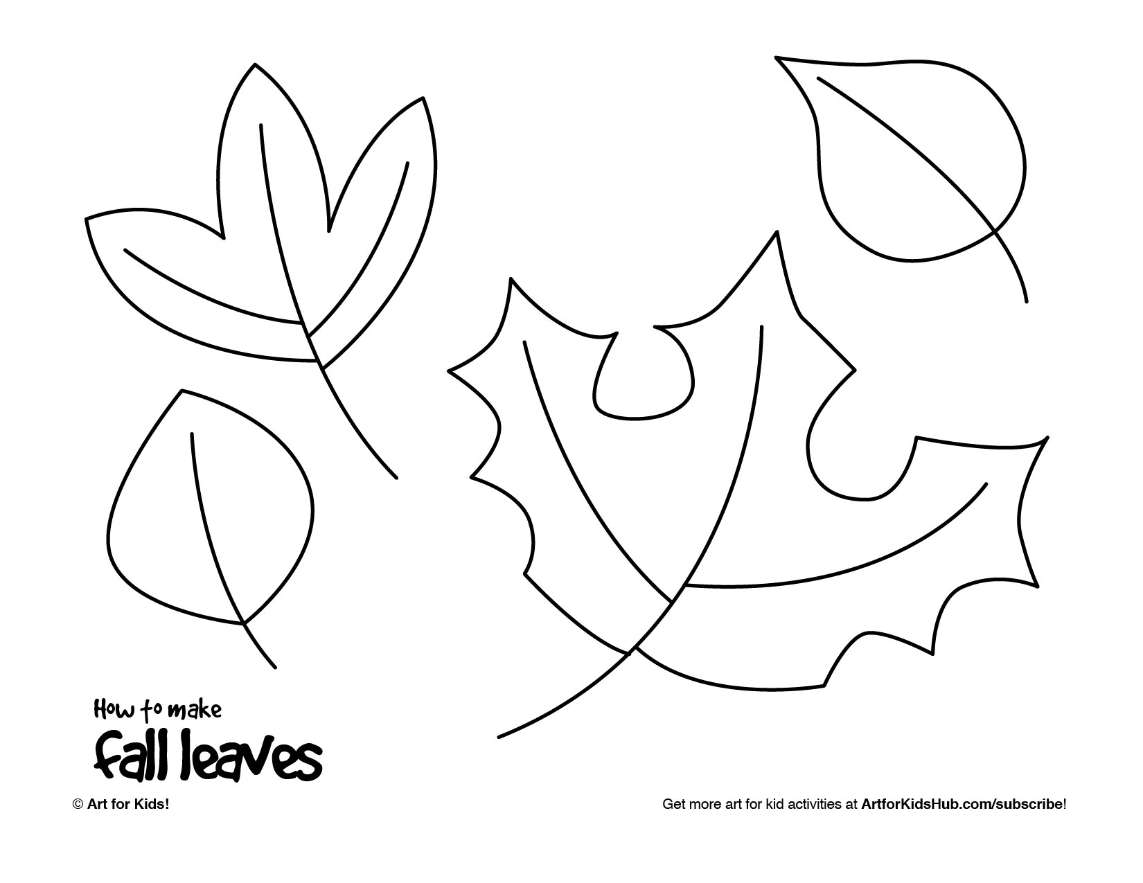 Uncategorized Leaves To Draw how to make fall leaves art for kids hub leaves