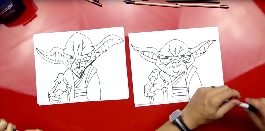 How To Draw Yoda