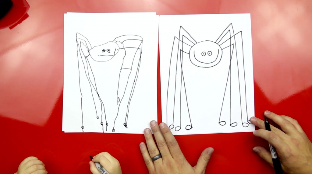How To Draw A Daddy Long Legs