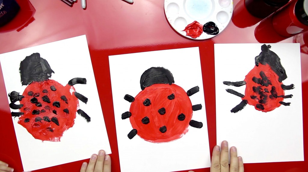 How To Paint A Ladybug