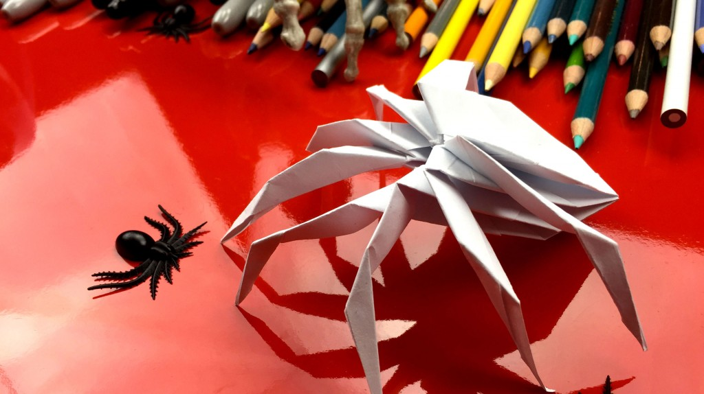 How To Fold An Origami Spider!