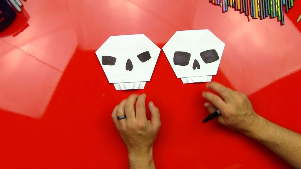 How To Fold An Origami Skull