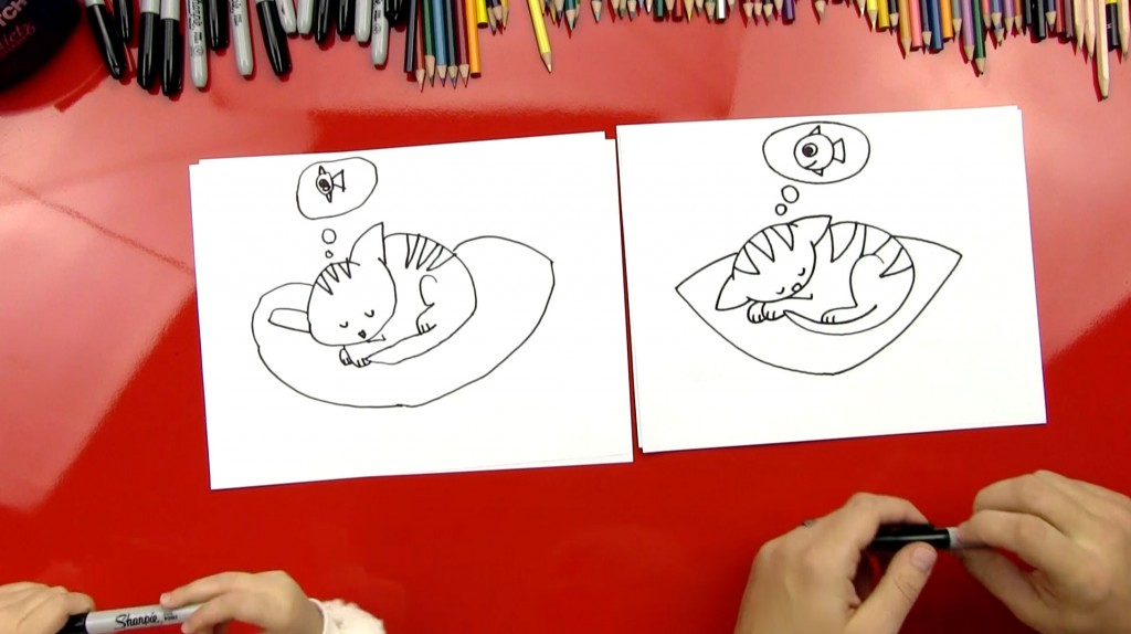 How To Draw The Cutest Kitten Ever
