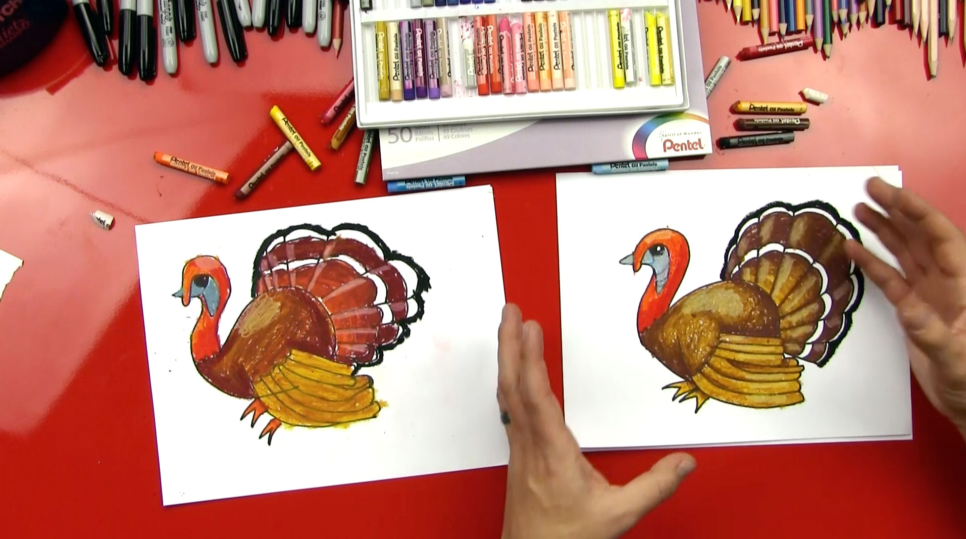 How To Draw A Realistic Turkey