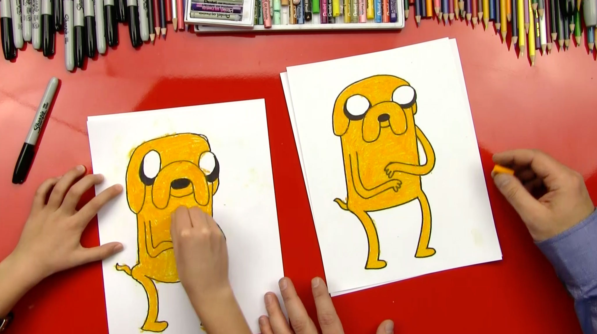 art for kids hub how to draw a dog