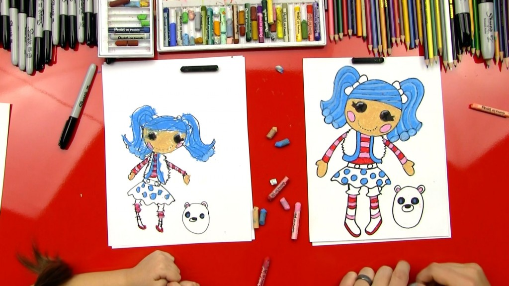 How To Draw Lalaloopsy – Mittens Fluff 'N' Stuff