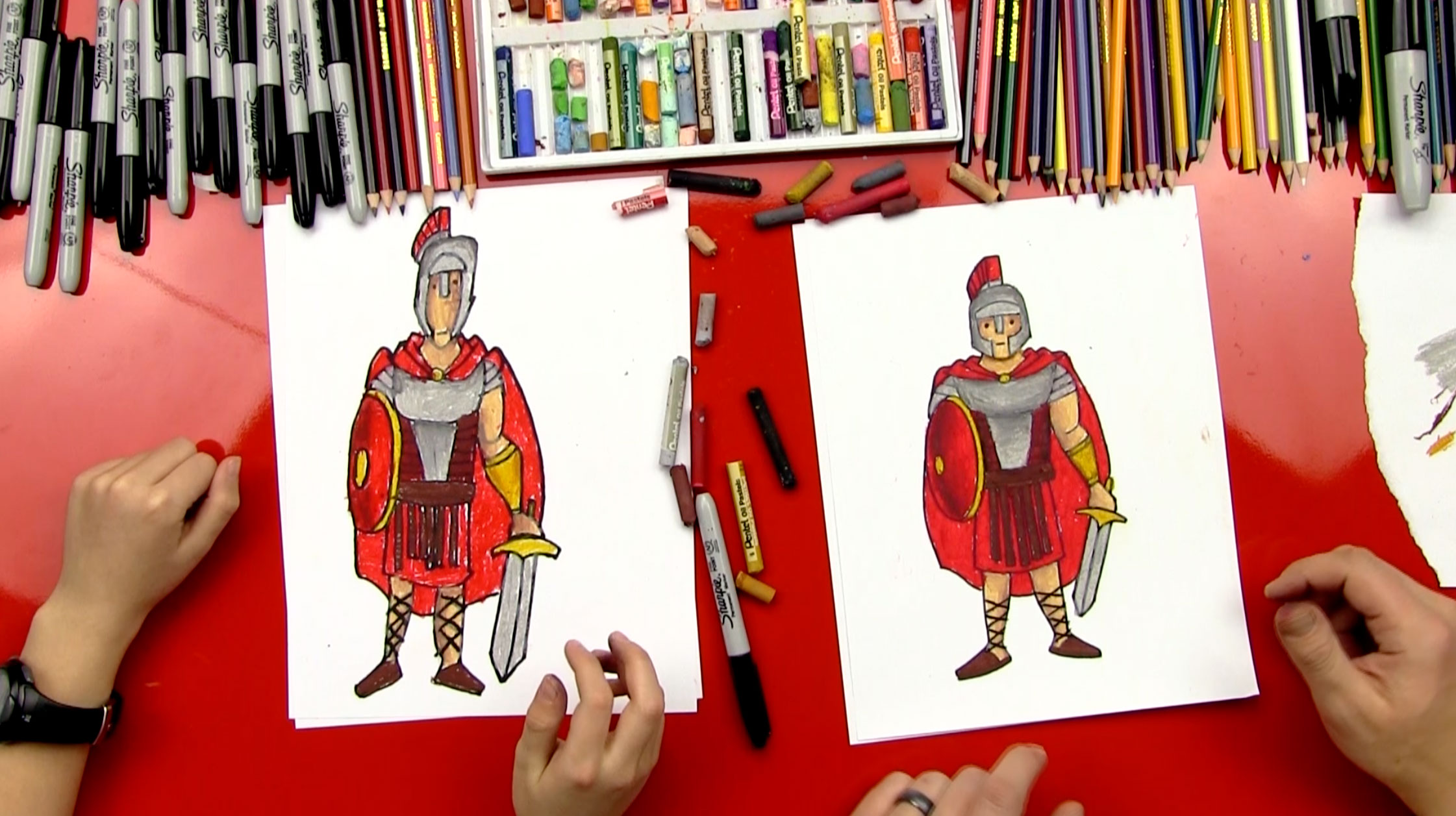 How To Draw A Roman Soldier Art For Kids Hub - 8 fun activities for kids in rome