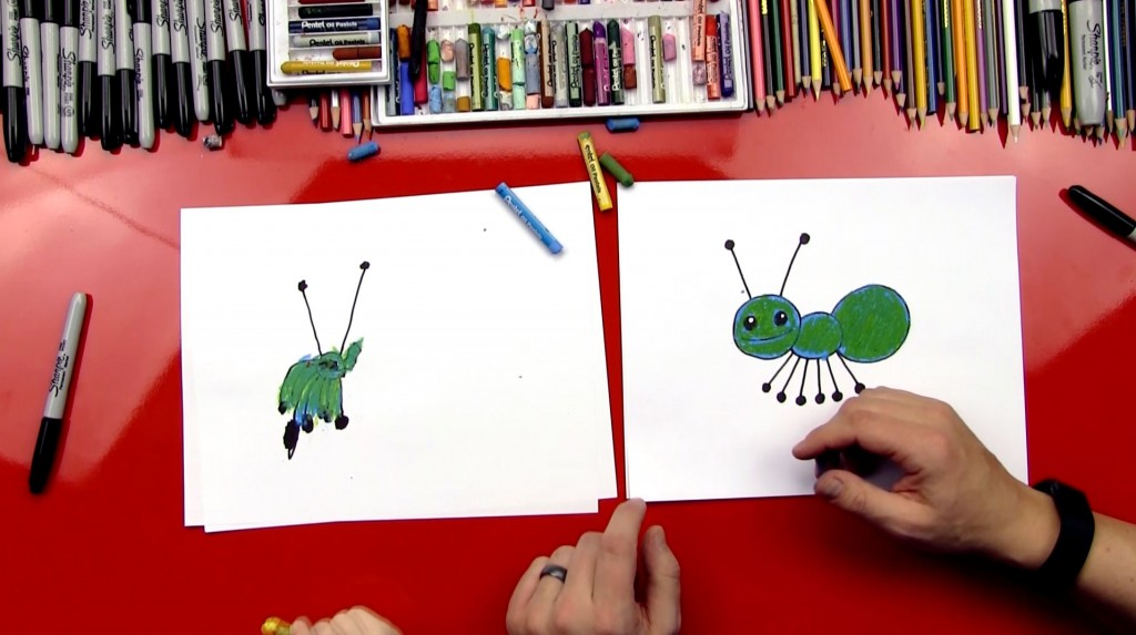 How To Draw An Ant For Young Artists