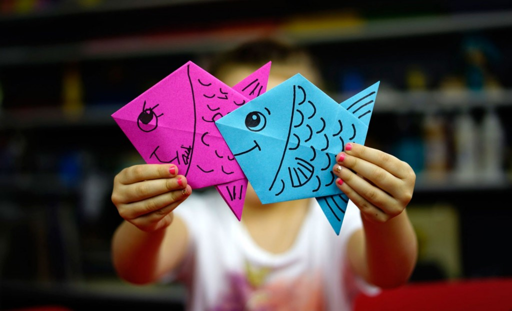 How To Fold An Origami Fish