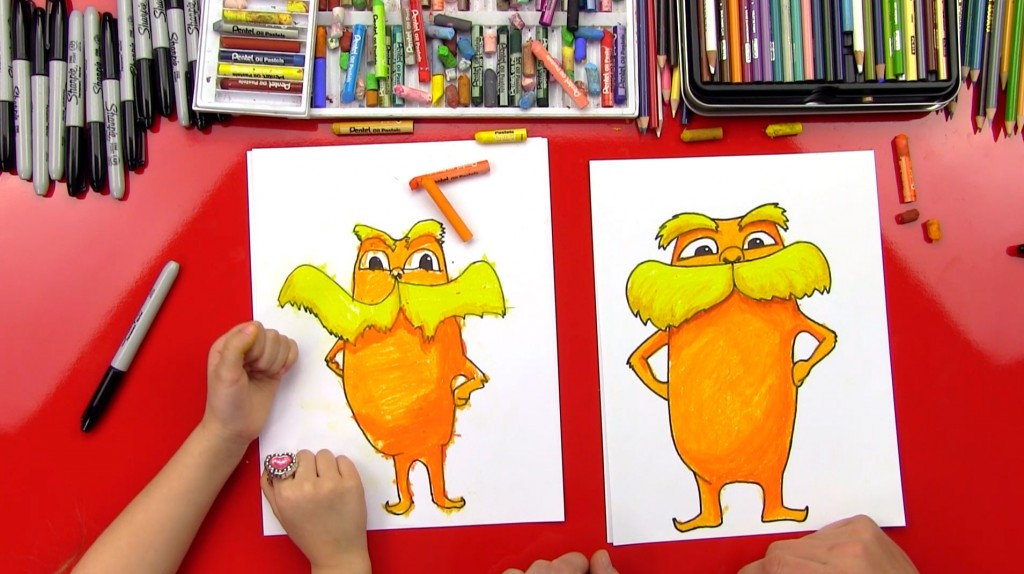 How To Draw The Lorax + Giveaway!
