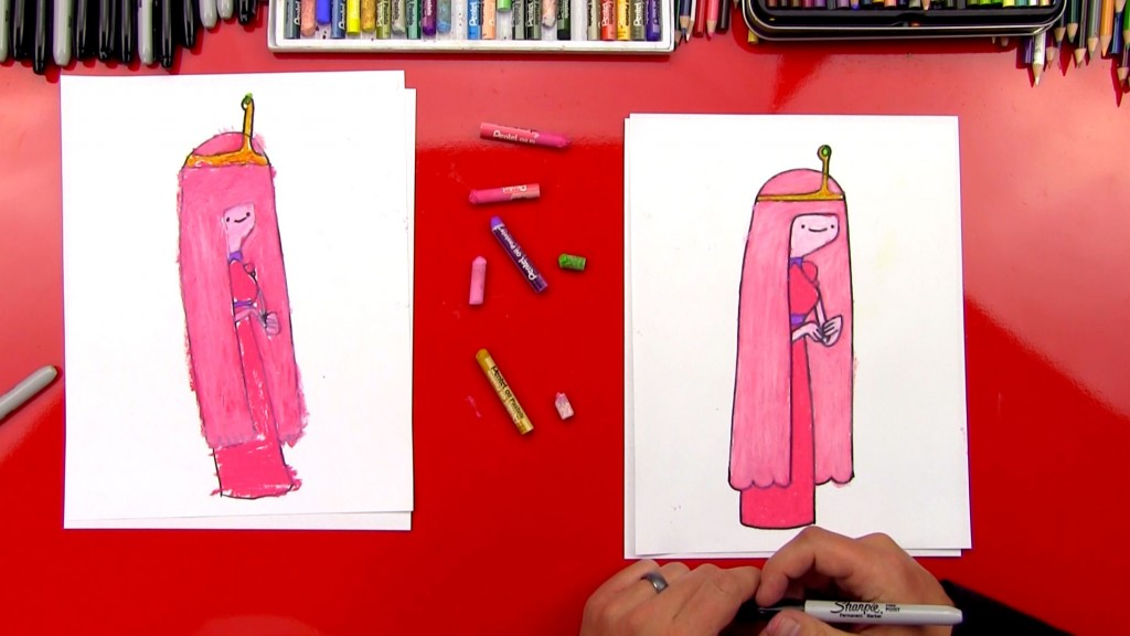 How To Draw Princess Bubblegum