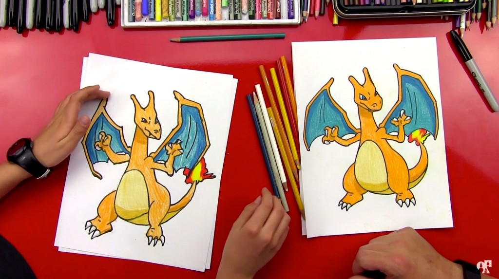 How To Draw Charizard Pokemon