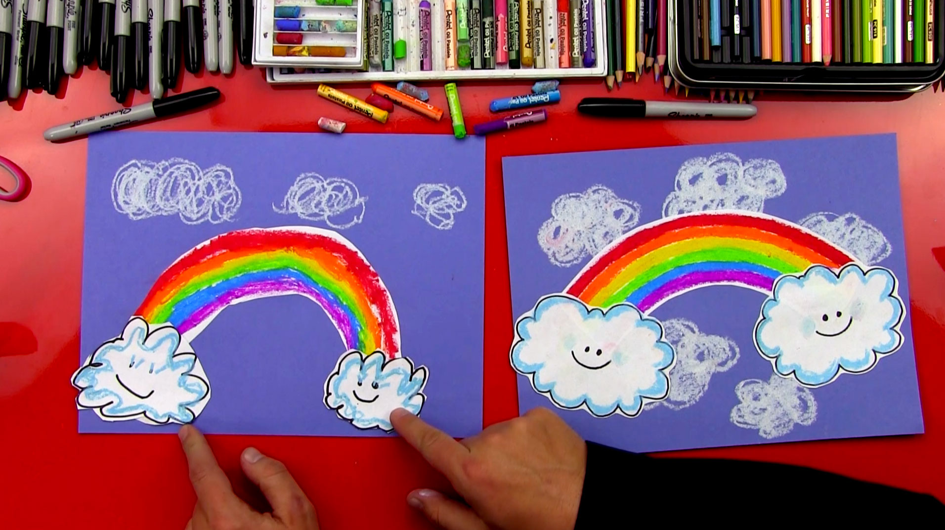 How To Draw A Rainbow For Young Artists