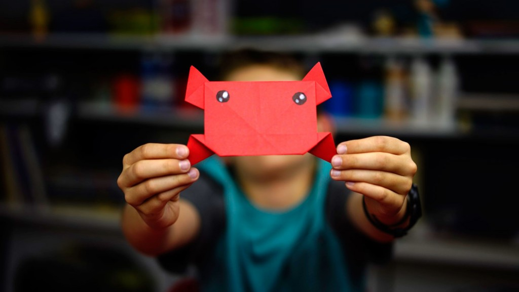 How To Fold An Origami Crab