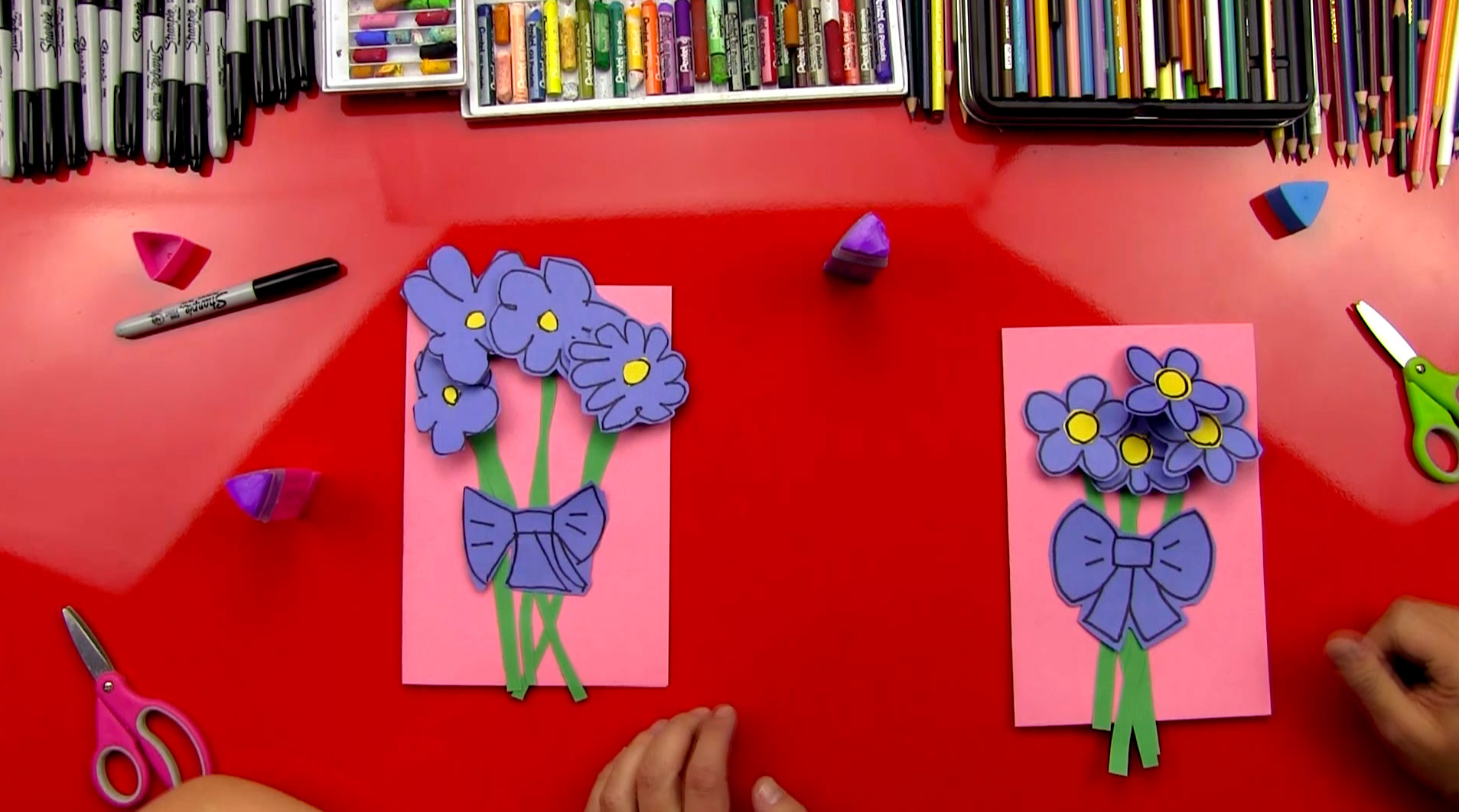 Easy Mother S Day Card Art For Kids Hub