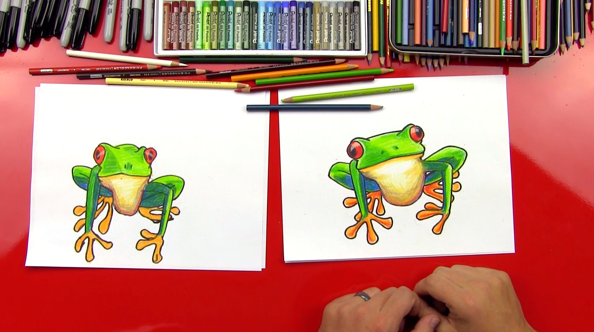 art for kids hub how to draw a geni