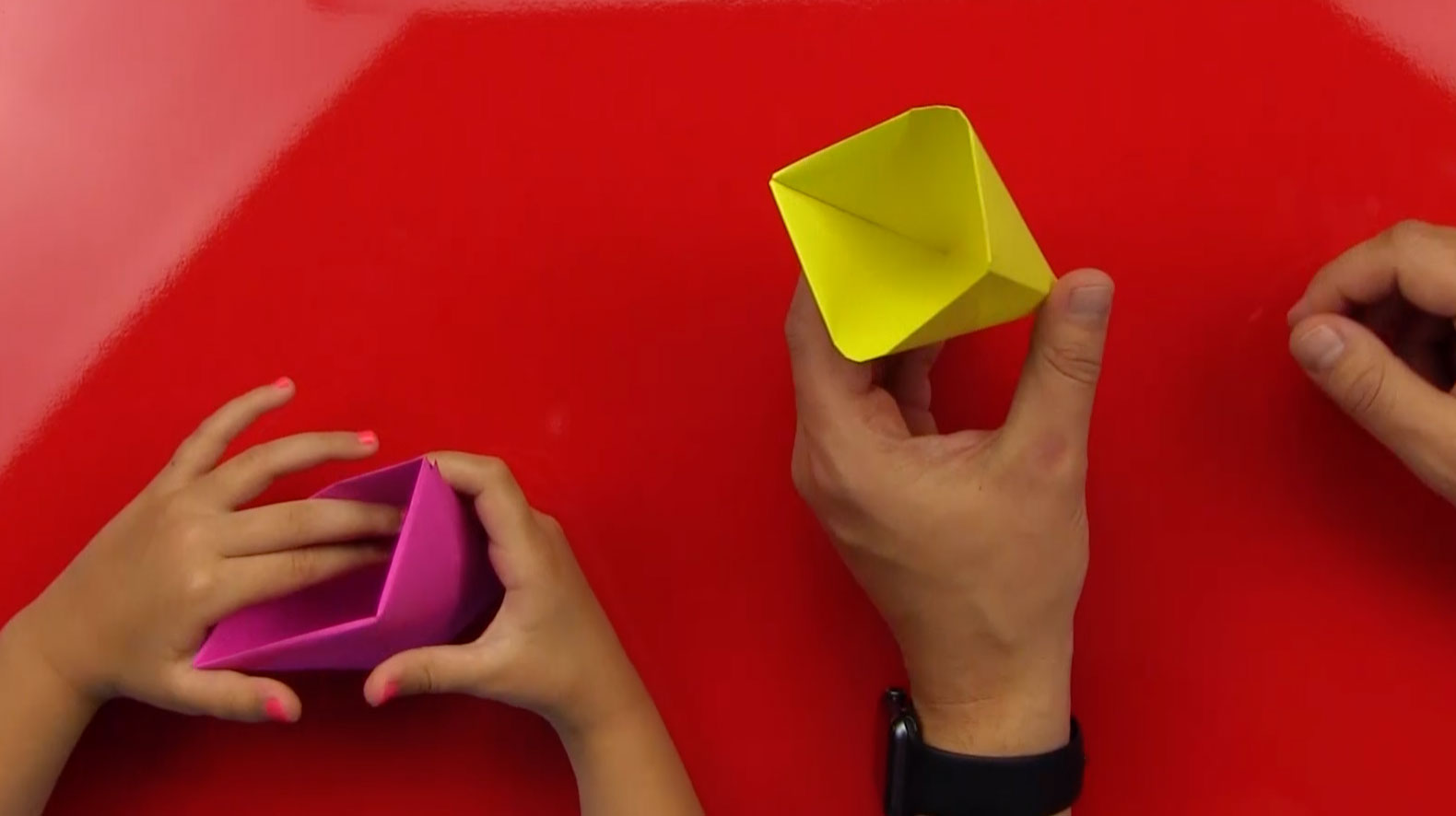 How To Fold An Origami Cup Art For Kids Hub