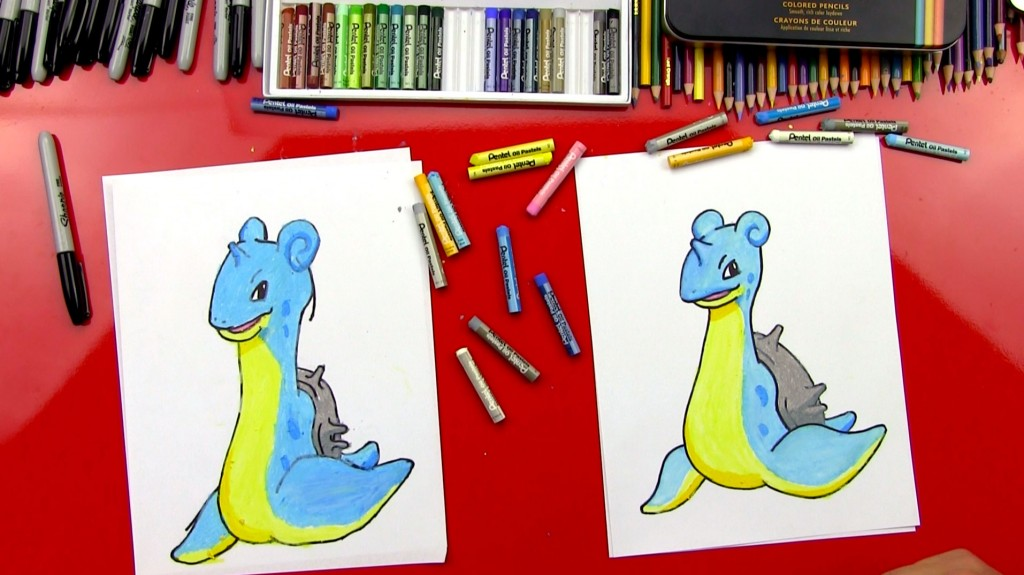 How To Draw Lapras