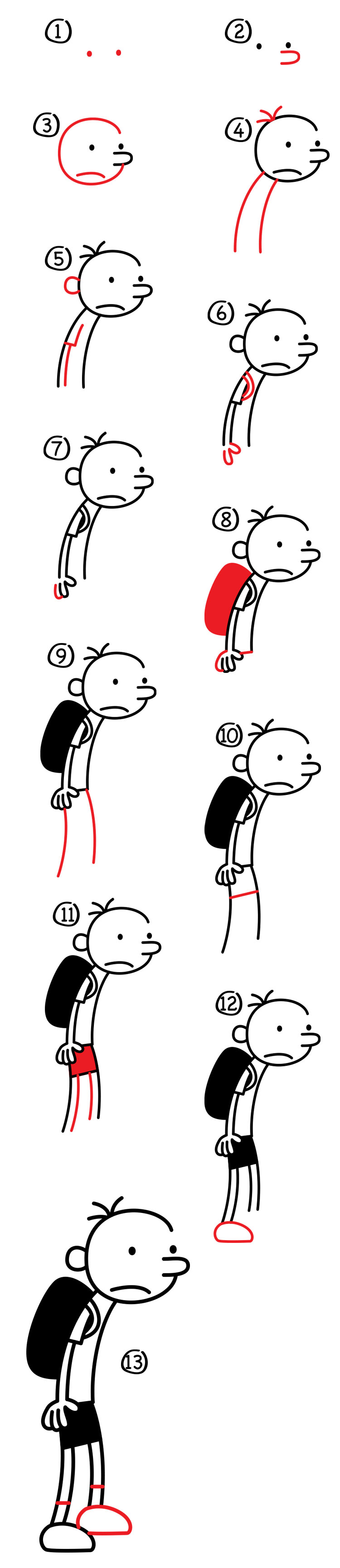 How to draw greg from diary of a wimpy kid solutioingenieria Images