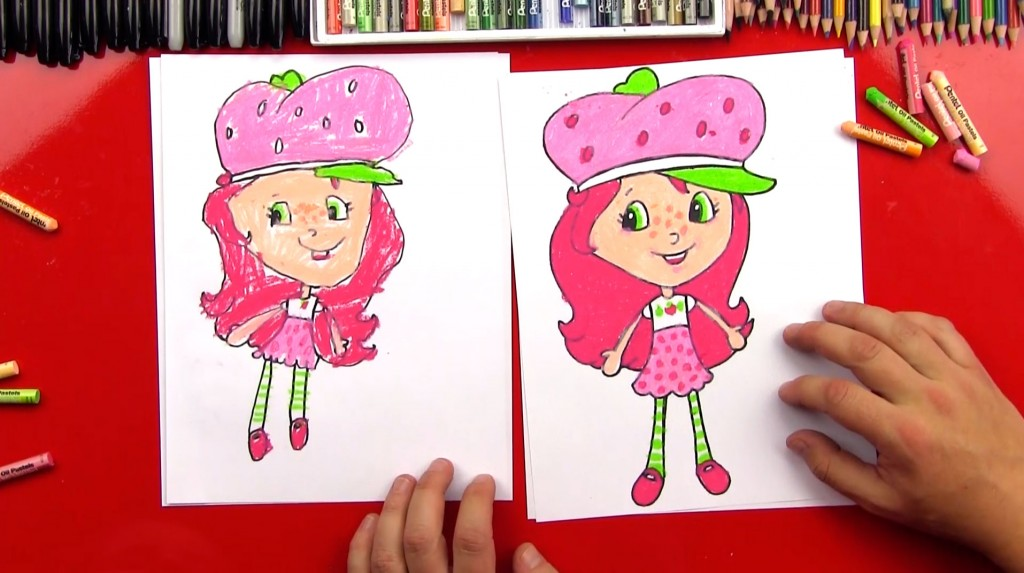 How To Draw Strawberry Shortcake