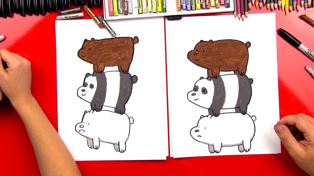 How To Draw We Bare Bears Bearstack