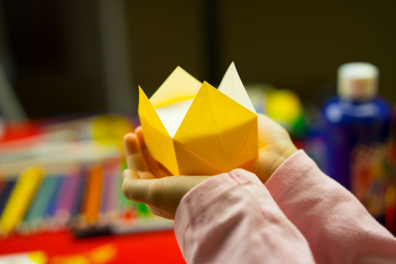 How To Fold An Origami Crown - Art For Kids Hub - photo#45