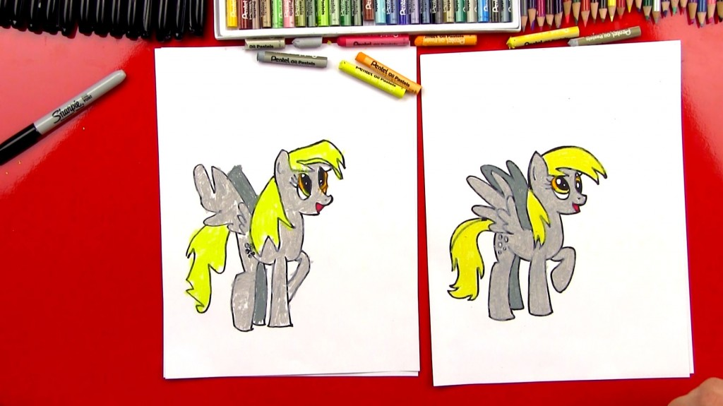 How To Draw Derpy Hooves