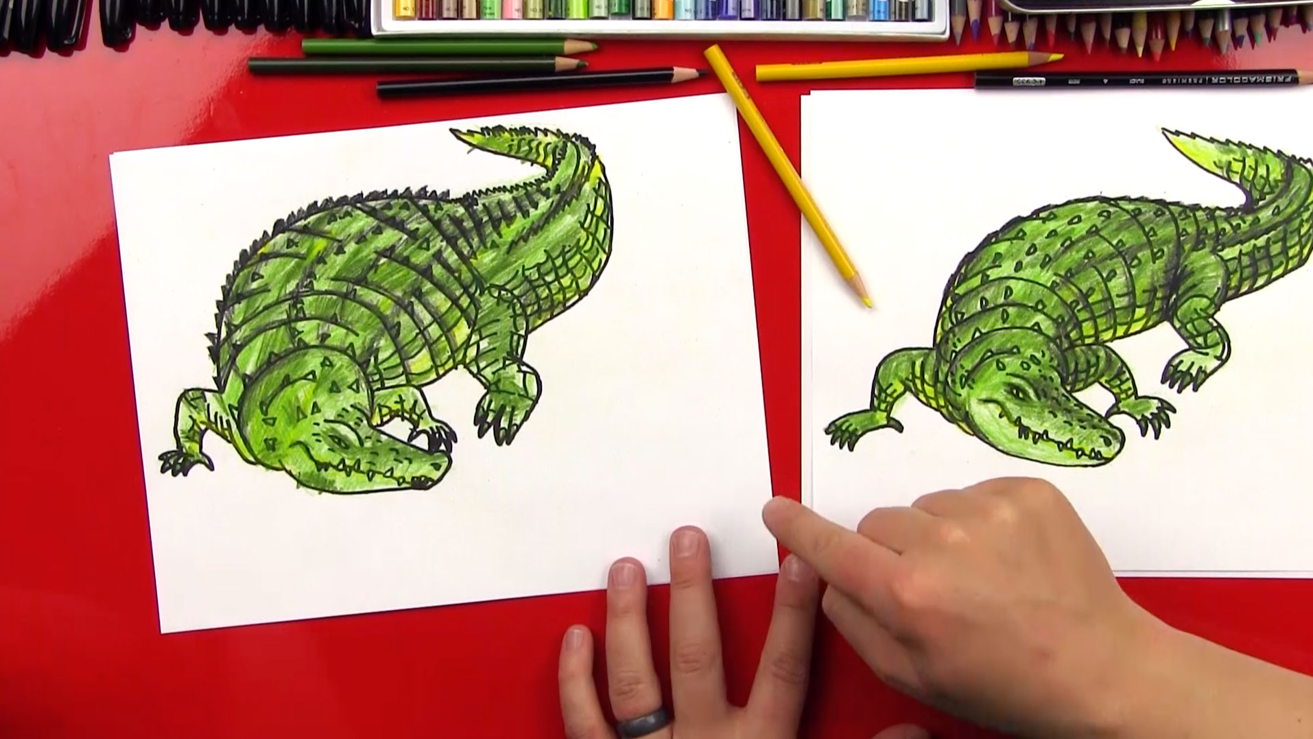 How To Draw A Realistic Crocodile Art For Kids Hub How To Draw A  Photorealistic Nose