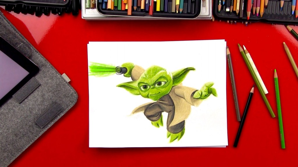 How To Draw Yoda – Advance Sketching