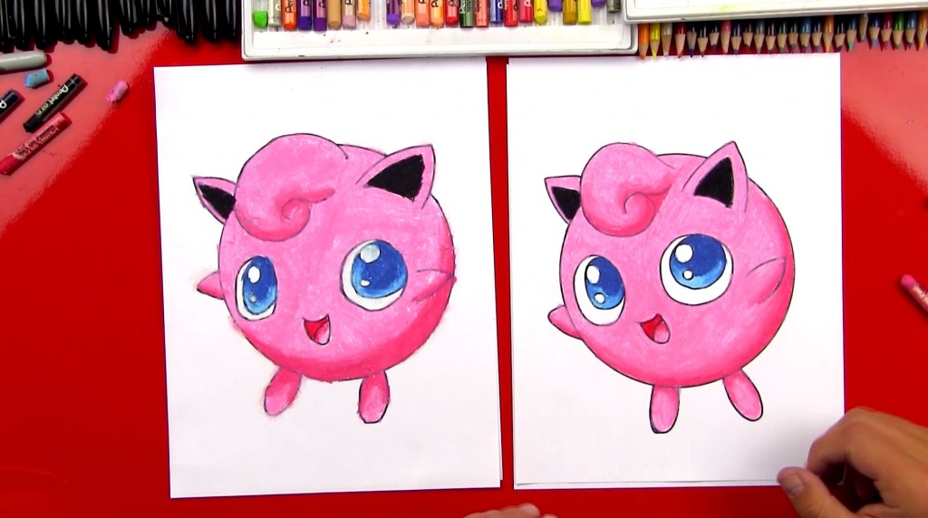 How To Draw Jigglypuff