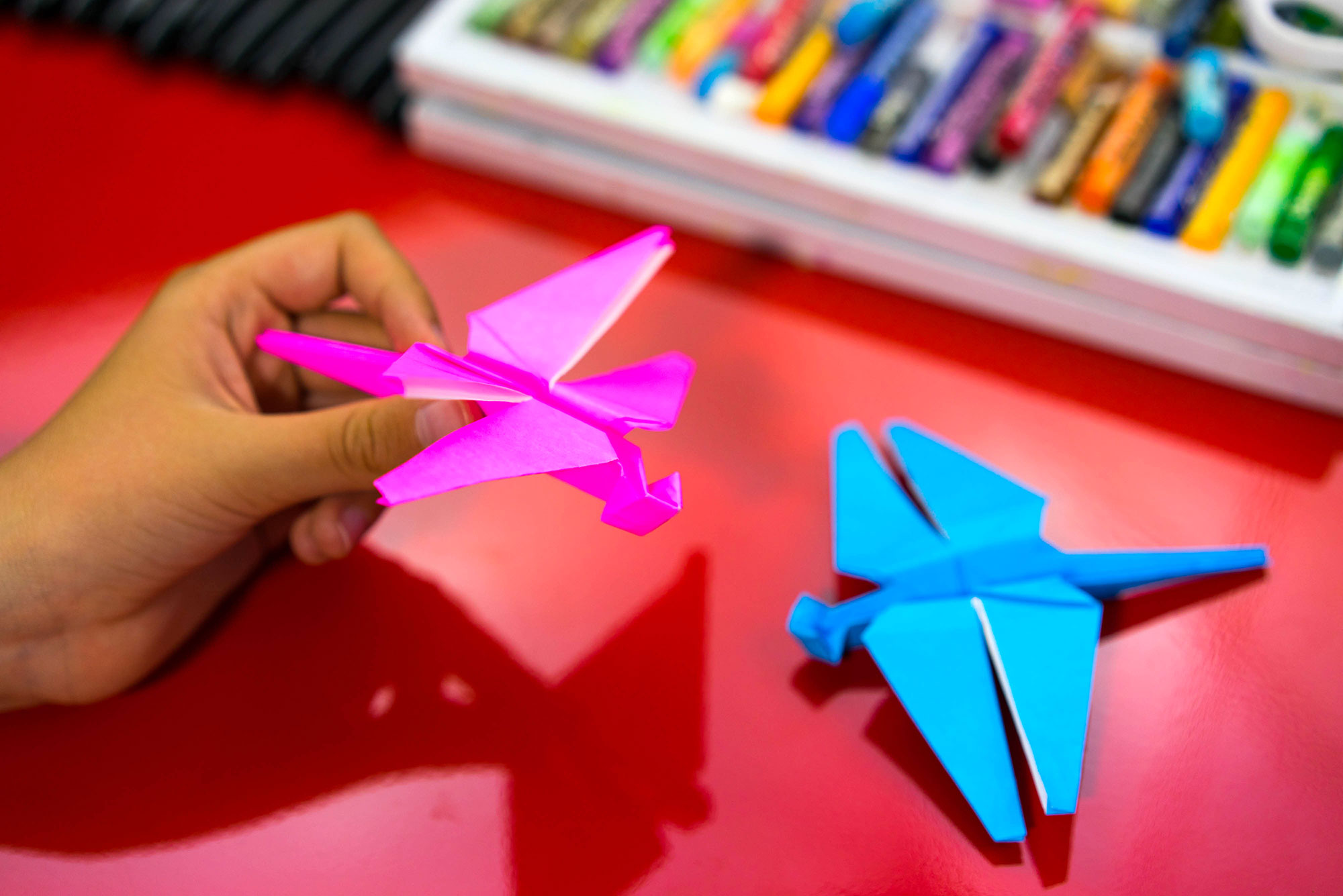 How To Fold An Origami Dragonfly Art For Kids Hub