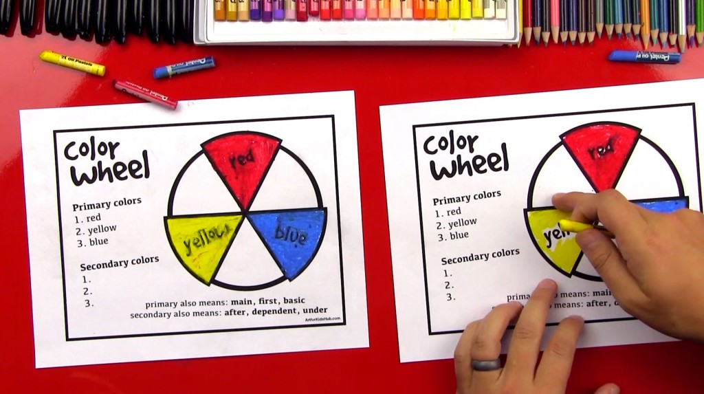The Color Wheel Primary And Secondary Colors Part 1