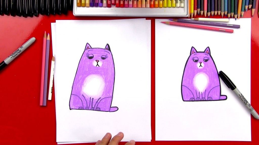 How To Draw Chloe From Secret Life Of Pets