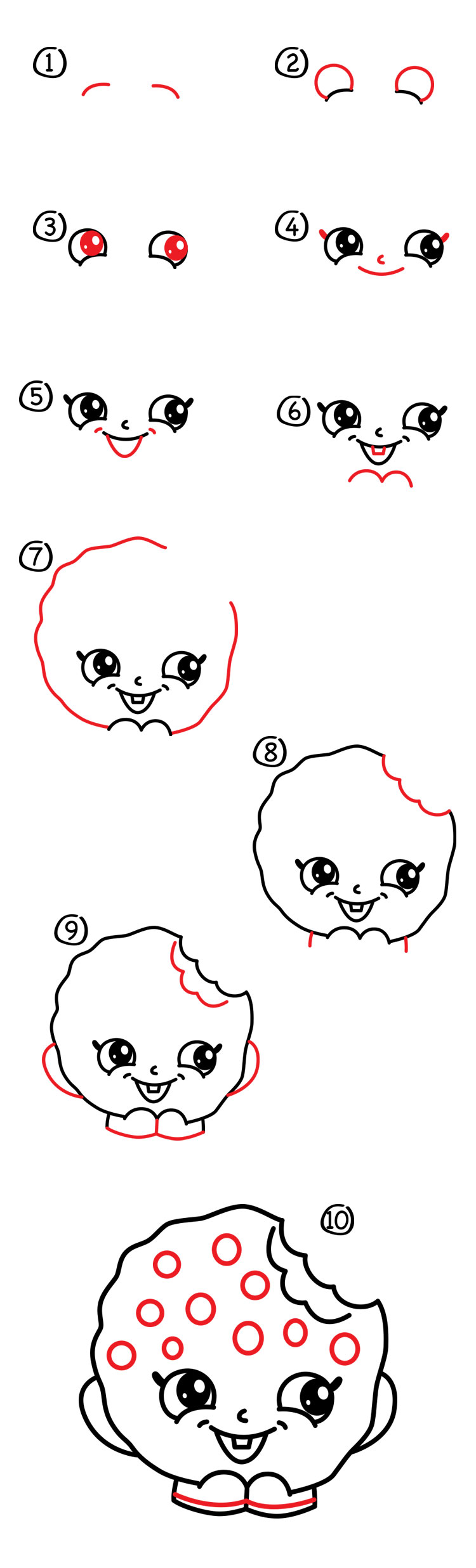 how to draw ty toy eyes