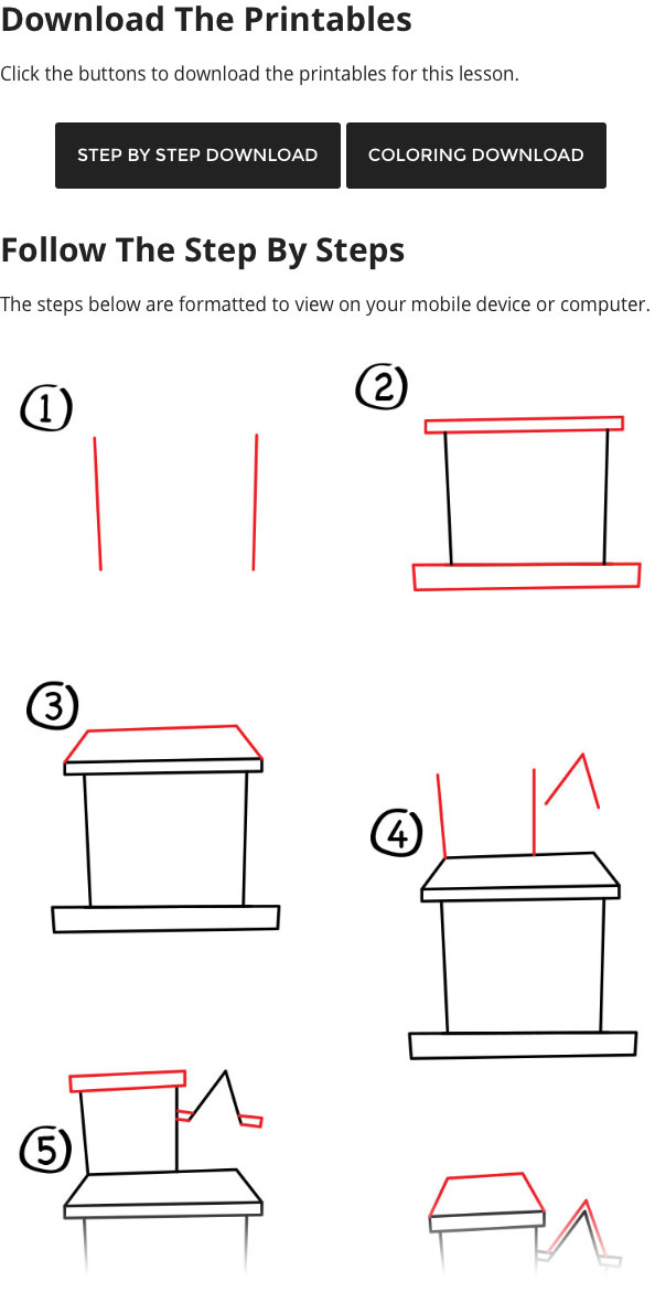 Mansion Drawing: How To Draw A Haunted House