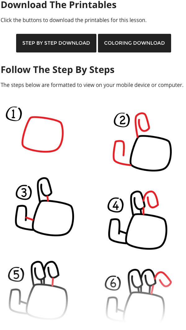 how to draw a zombie hand