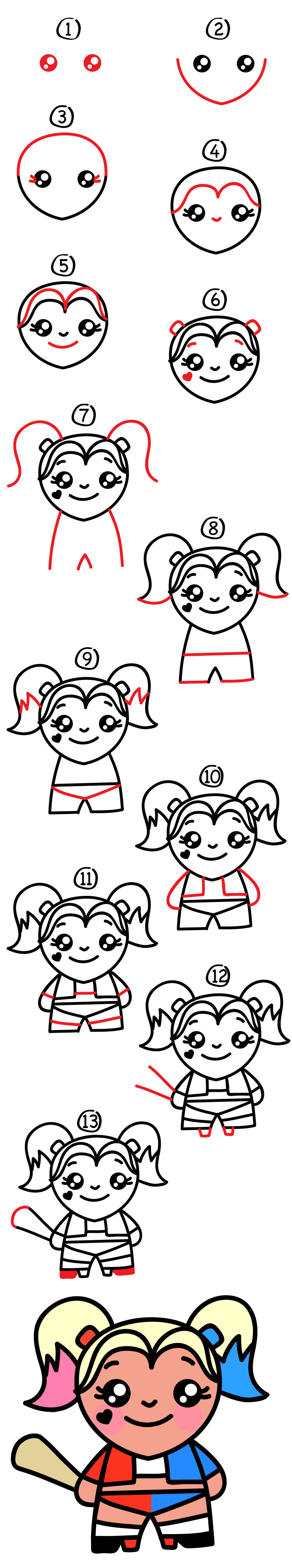 how to draw kellin quinn step by step