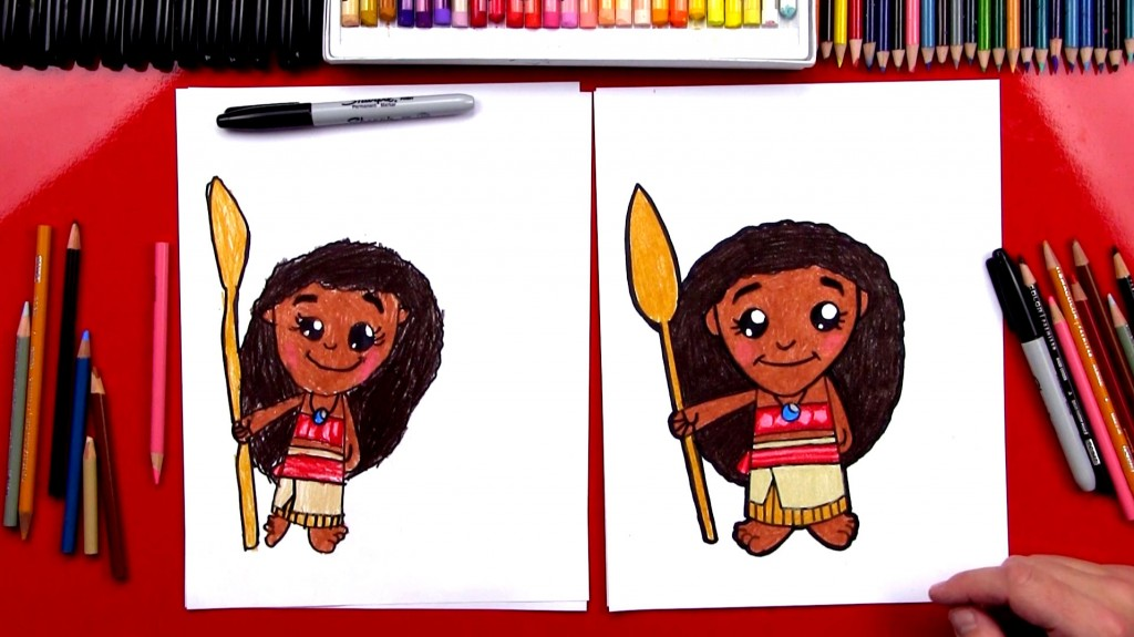 How To Draw Moana