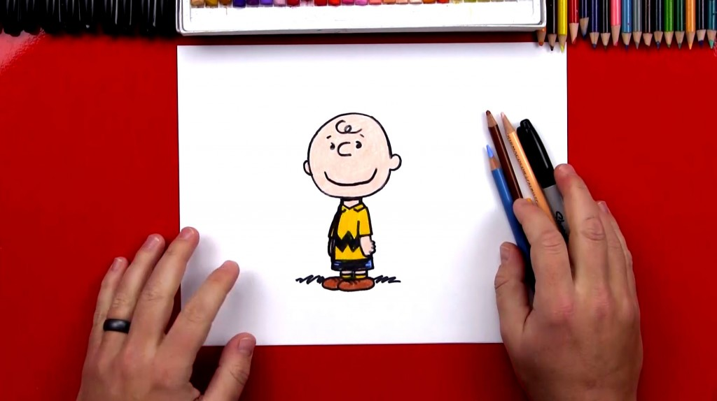 How To Draw Charlie Brown (Art Club Members)