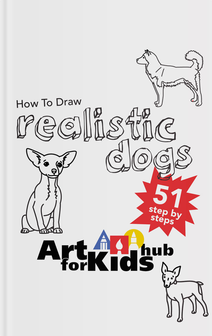 How To Draw Realistic Dogs ebook