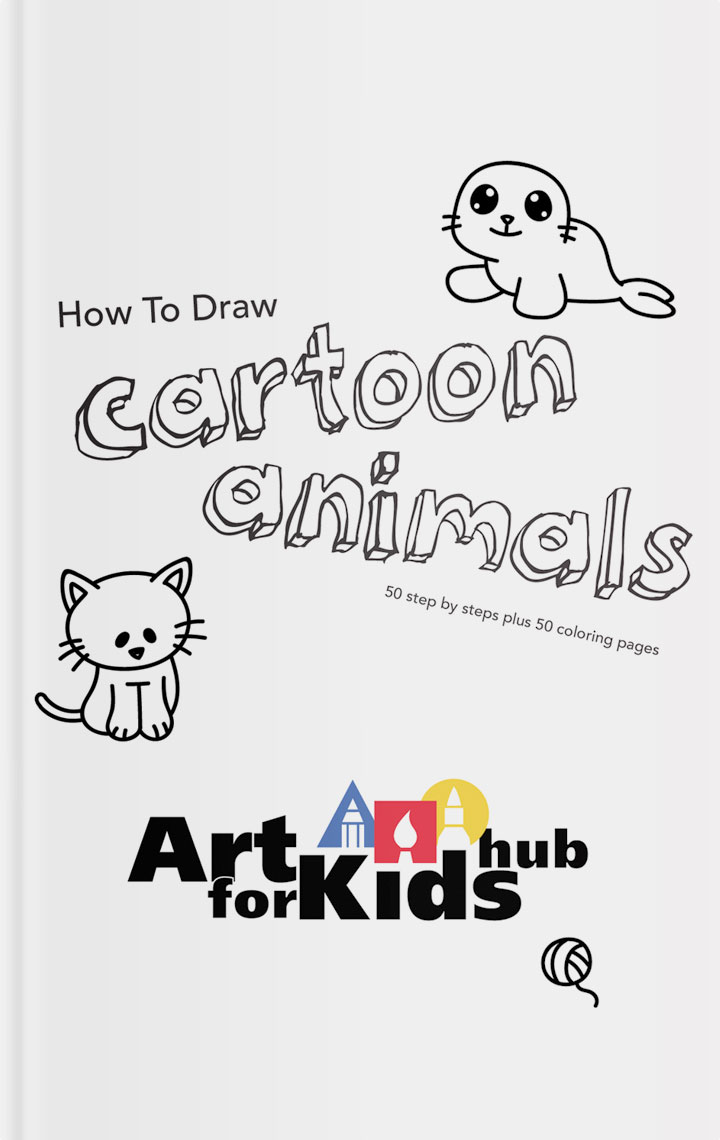 How To Draw Cartoon Animals Ebook
