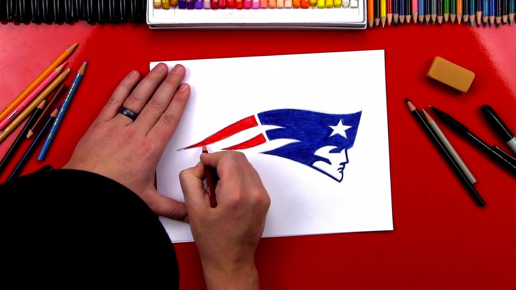 How To Draw The Patriots Logo