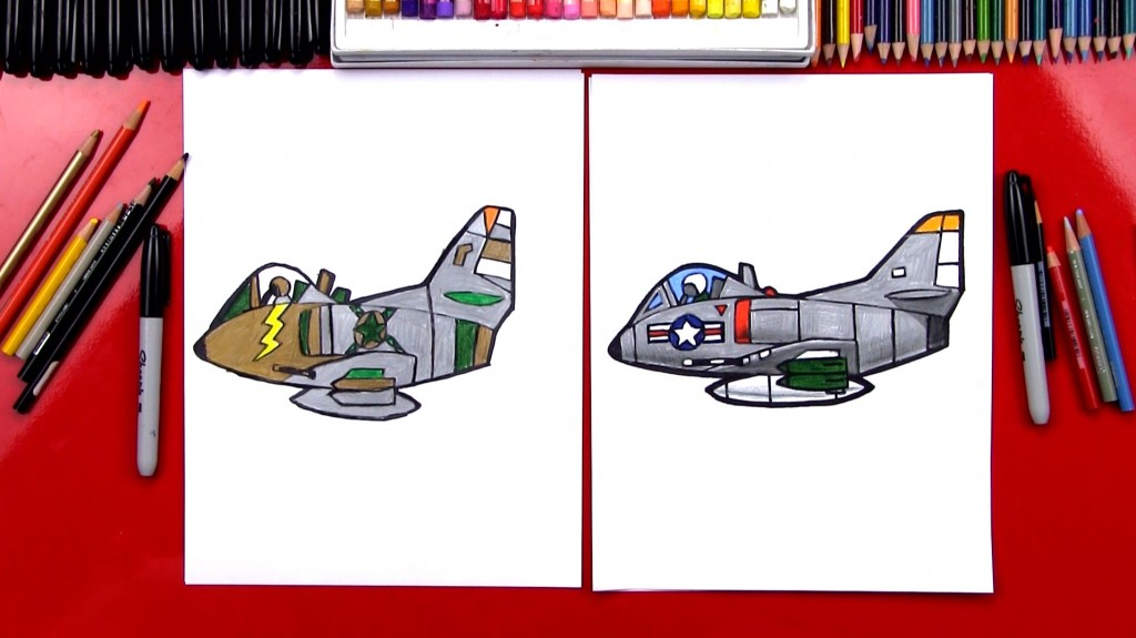 How To Draw A Jet