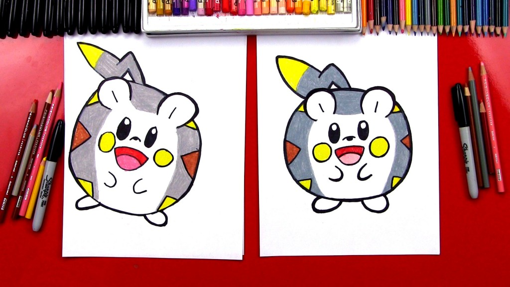 How To Draw Togedemaru Pokemon