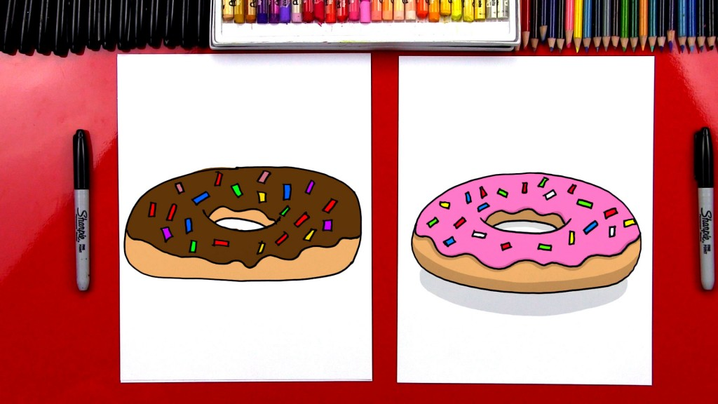How To Draw A Doughnut