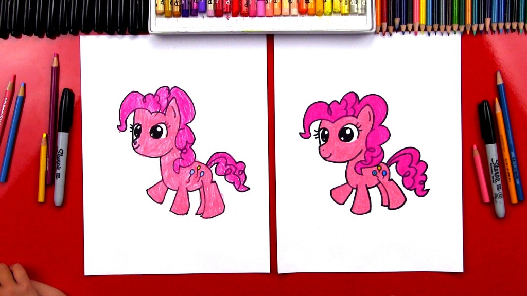 How To Draw Pinkie Pie My Little Pony