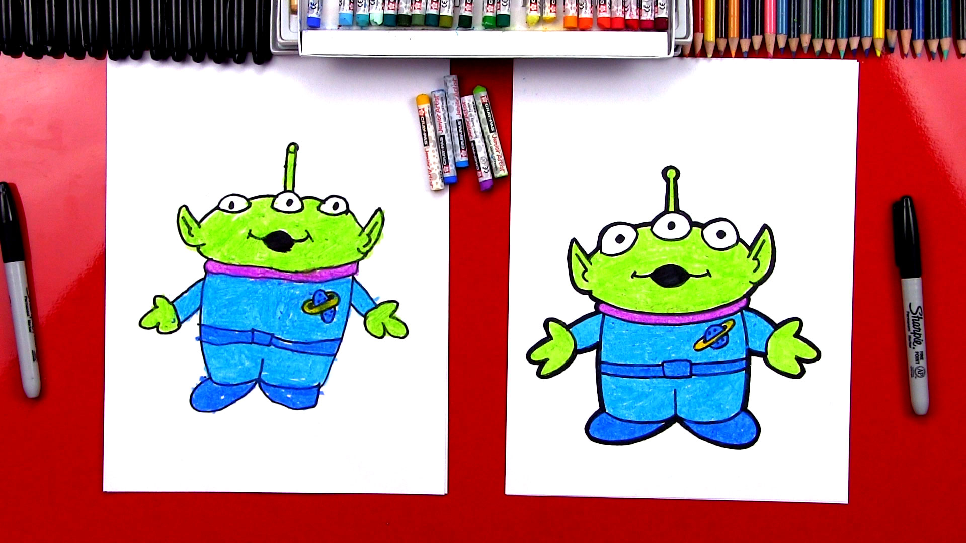 How To Draw Toy Story Alien