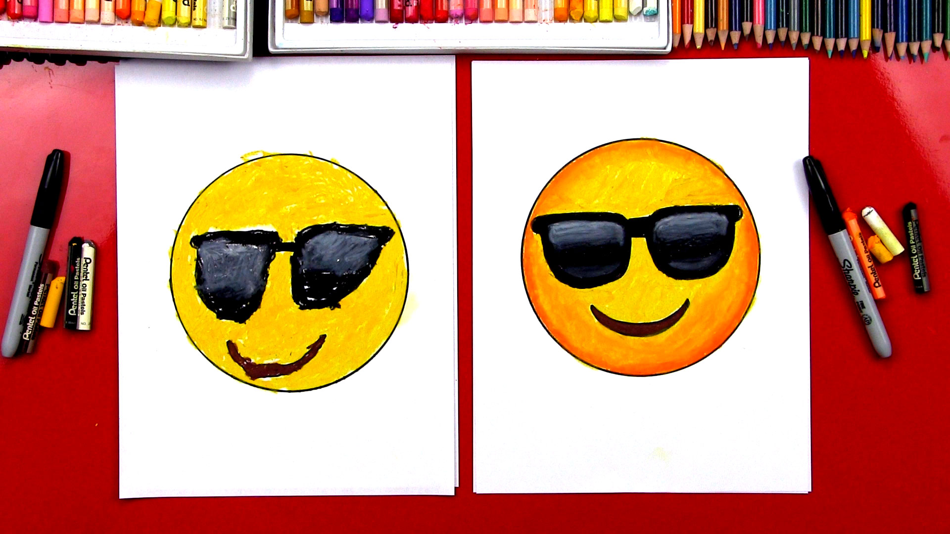 how to make cool emoji art
